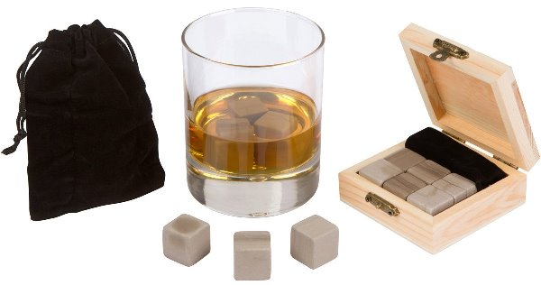 6 Pure Marble Whisky rocks