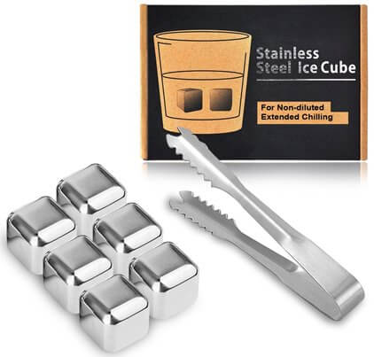 Kollea steel ice cubes