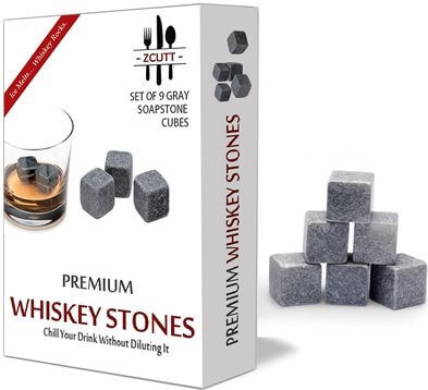 Premium Scotch Stones - Set of 9