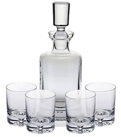 Ravenscroft Crystal 125th Anniversary Kensington Decanter Set
