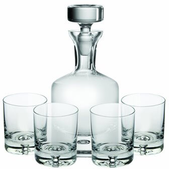 Ravenscroft Crystal Taylor Double Old Fashioned Decanter Set