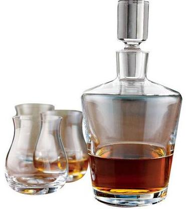 best whiskey decanter set for 2017 scotch bourbon carafes. Black Bedroom Furniture Sets. Home Design Ideas