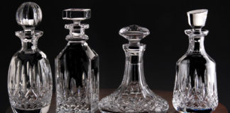 Whiskey Decanters' shapes and uses