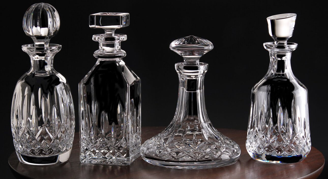 whiskey decanters the shapes the uses and more. Black Bedroom Furniture Sets. Home Design Ideas
