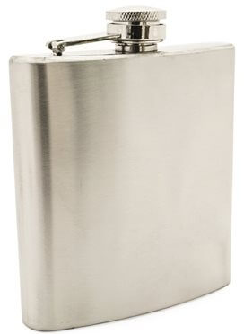 stainless steel premium heavy duty whiskey canteen