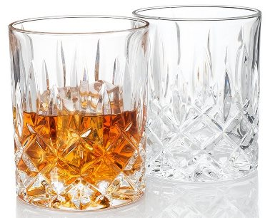 "Waldorf ""Men's Bar"" Crystal Whiskey Glasses"