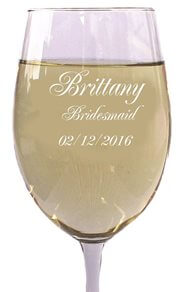 Gifts Infinity® Personalized 18oz Wine Glass FREE ENGRAVING