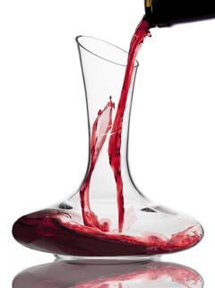 Wine Reveller Crystal Decanter