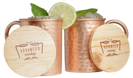 16-Ounce Set of 2 Moscow Mule Copper Mugs