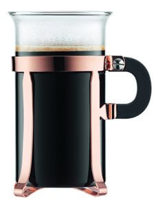 Classic 2 Piece Copper Coffee Glass