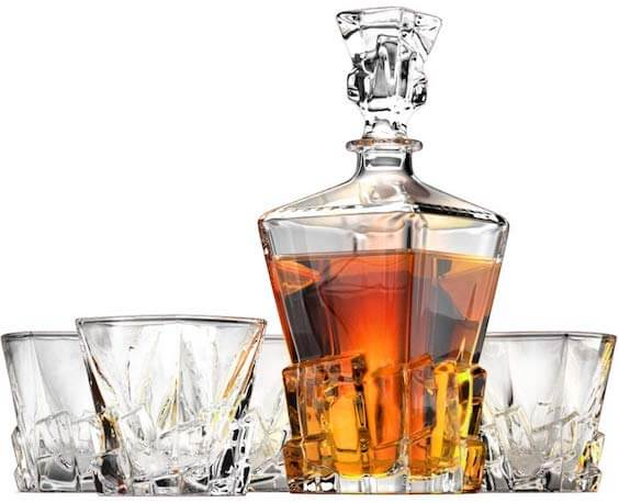 Iceberg Whiskey Decanter by Ashcroft Fine Glassware
