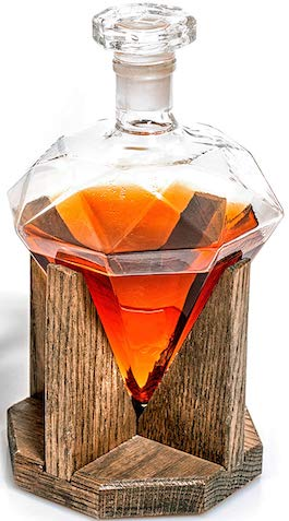 diamond liquor decanter