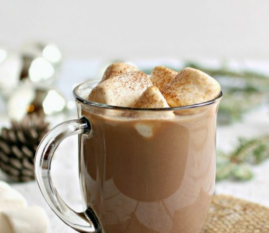 Spiked and Spicy Hot Chocolate
